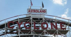 coney island cyclone!