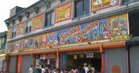 coney island storefronts
