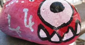 Nightmare Eater Tanya: Lucky Charm Rock Art