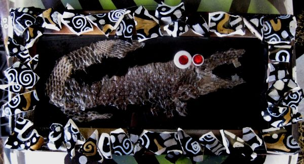 lizard skin art
