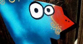quail yard art