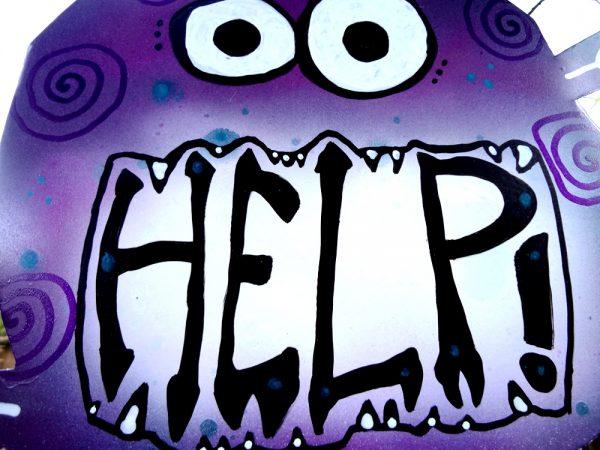 help monster yard art