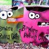 metal cat signs