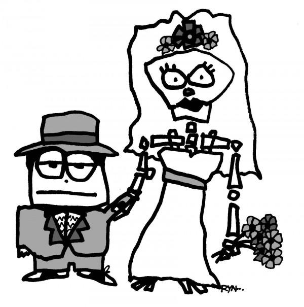 cxustom skeleton caricatures