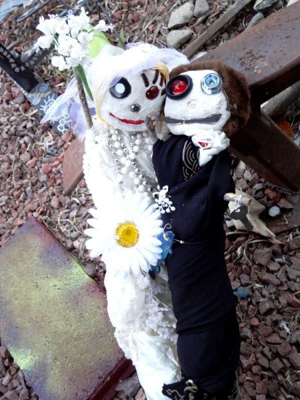 jumbo voodoo bride and groom