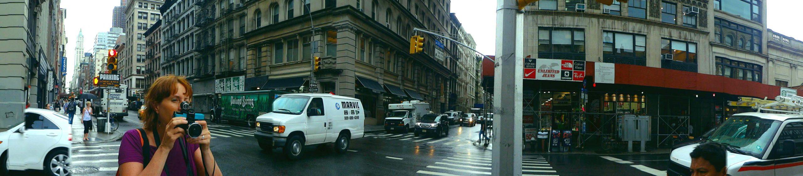 nyc street scene