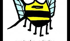 bee cartoonski: bee extinction