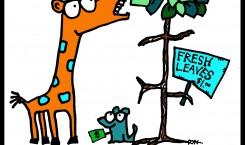 giraffe cartoonski