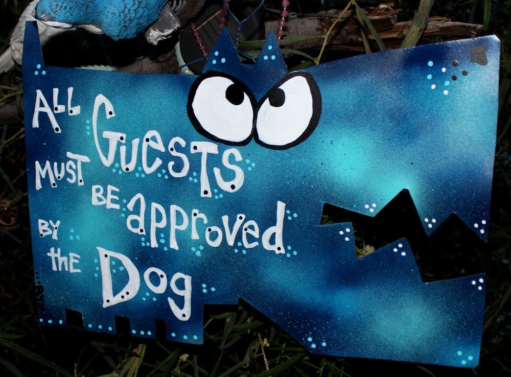 Front Door Dog Signs Ryndustries