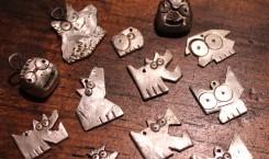 rynski charmski: sterling silver charms