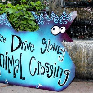 custom animal crossing signs
