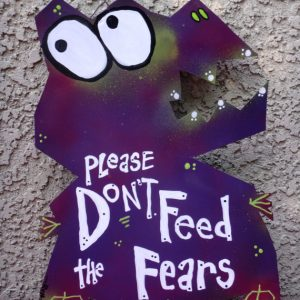 fear monster sign