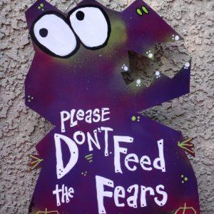 fear monster sign