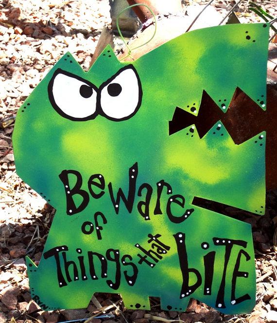 custom monster sign