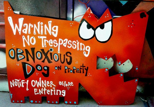 obnoxious dog sing