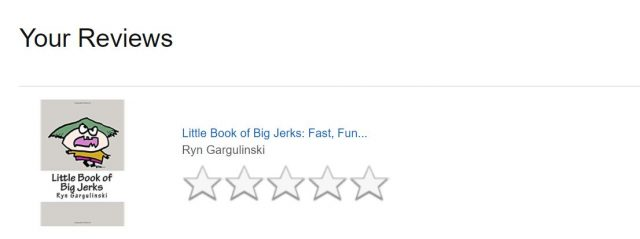 how to leave amazon book review