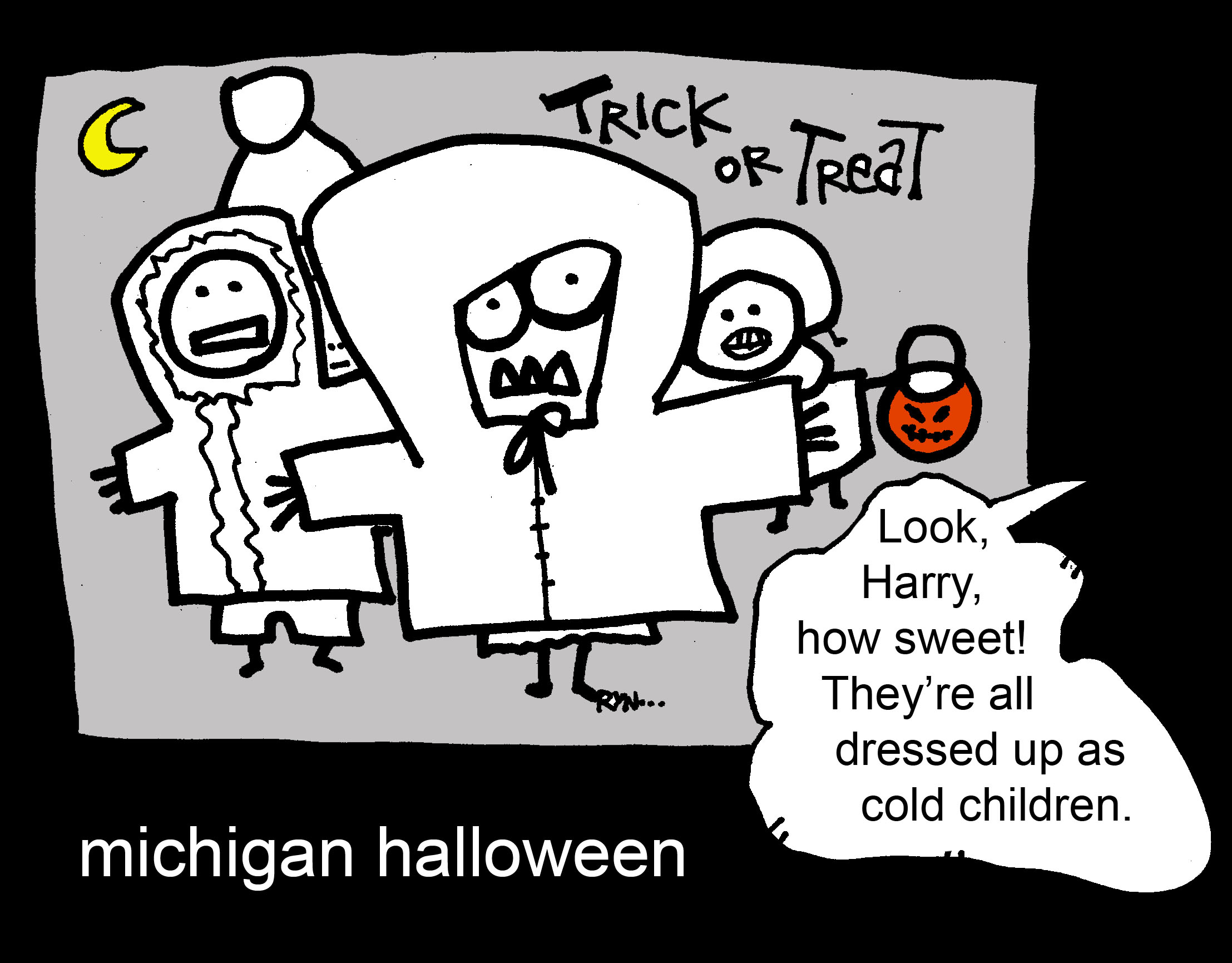 michigan trick or treating
