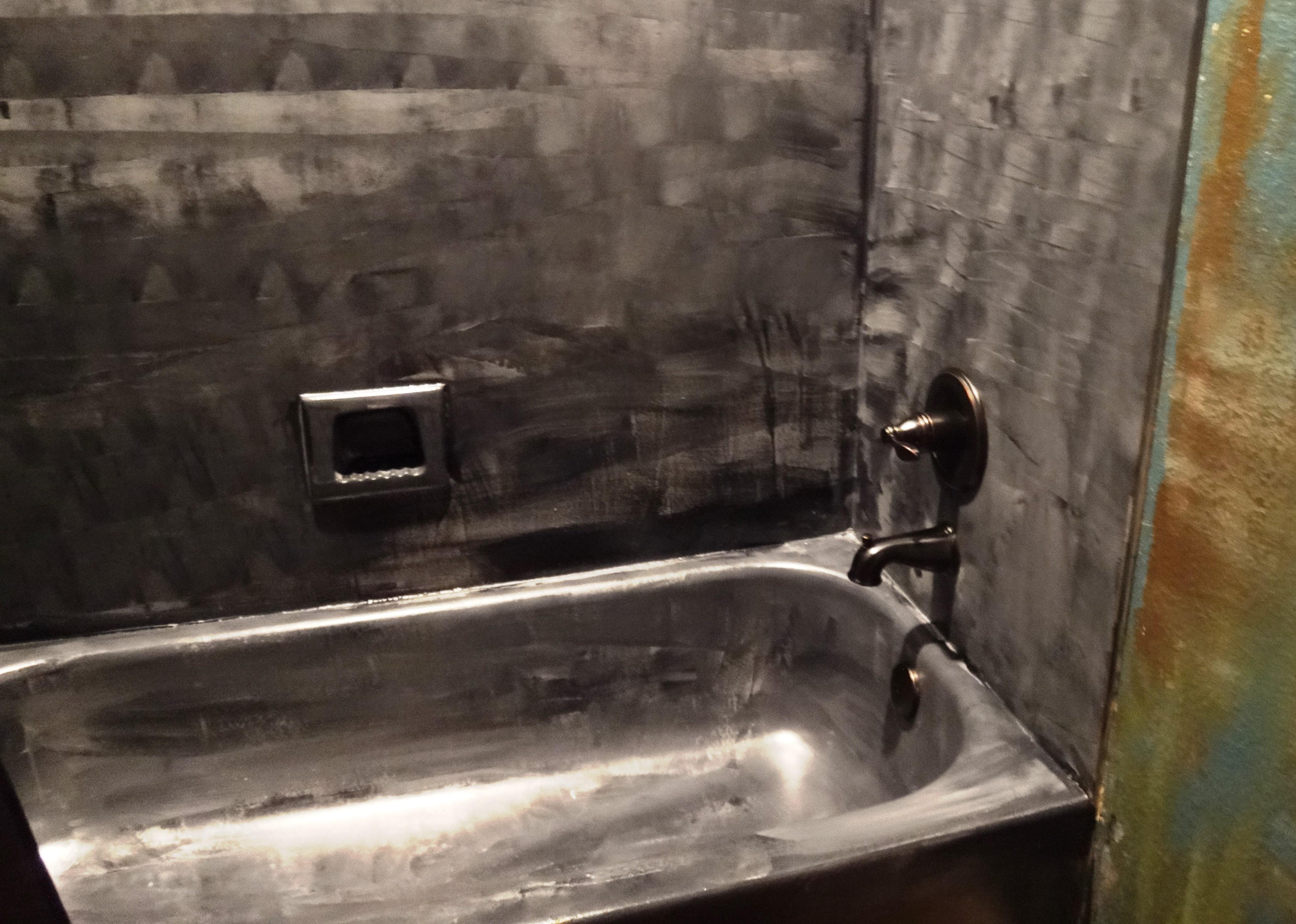 paint bathtub