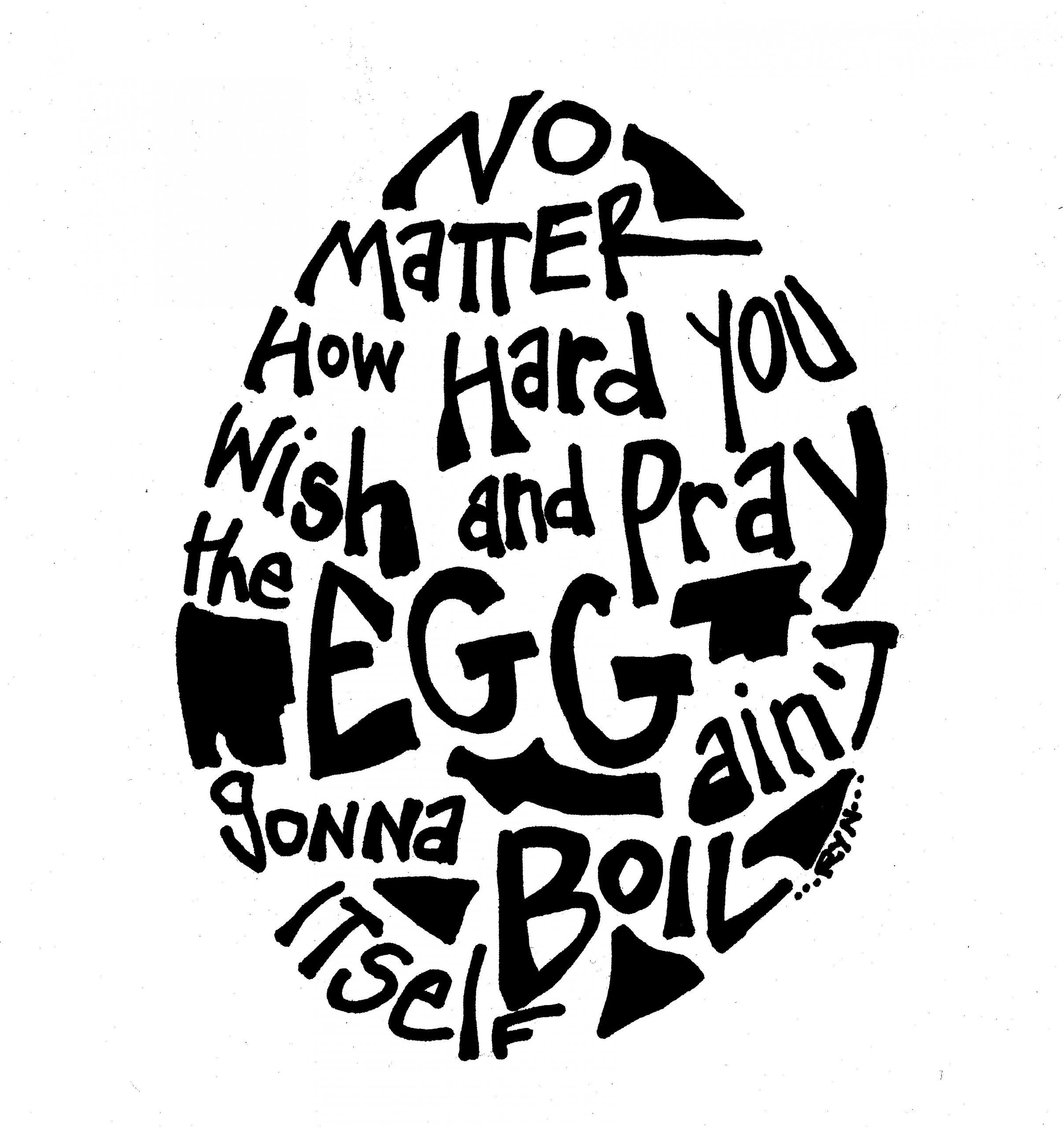 egg emblem poem