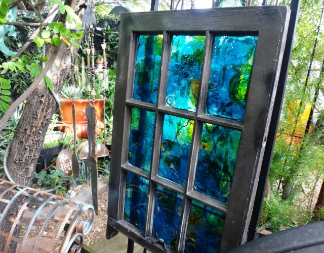 old window stained glass project